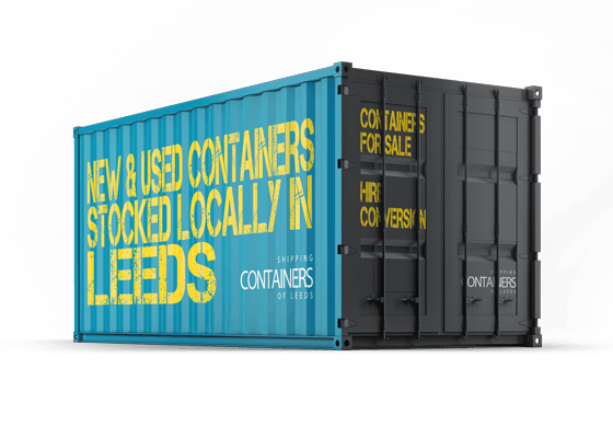 Shipping Containers in Leeds